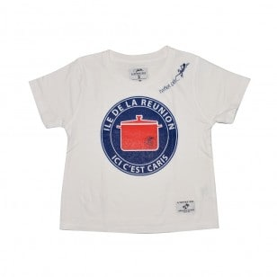 T-shirt Ici c'est Caris (marmaille Jack)