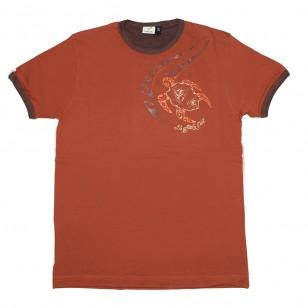 T-shirt TORTUE TATTOO (Col Bic)
