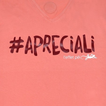 T-shirt Apreciali (Col V Holiday)