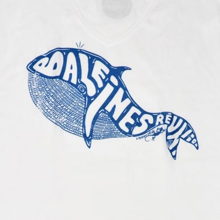 T-shirt Baleine Gravée (Col V Holiday)