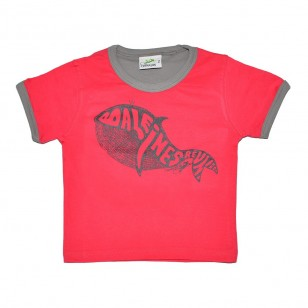 T-shirt Baleine Gravée (Col Bic Marmaille)
