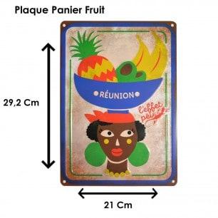 Plak Panier Fruit