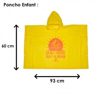 Poncho Pluie Enfant