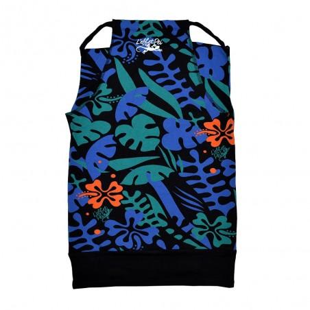 T-shirt Ganja (Blue Flowers)