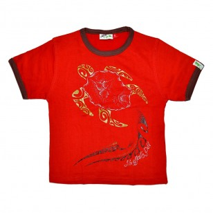 T-shirt TORTUE TATTOO Enfant (Col Bic)