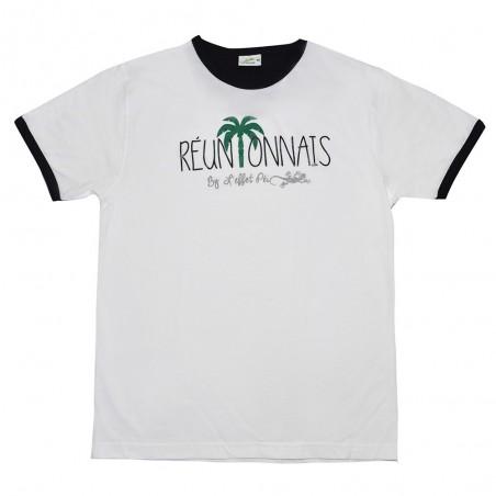 T-shirt Réunionnais (Col Bic)