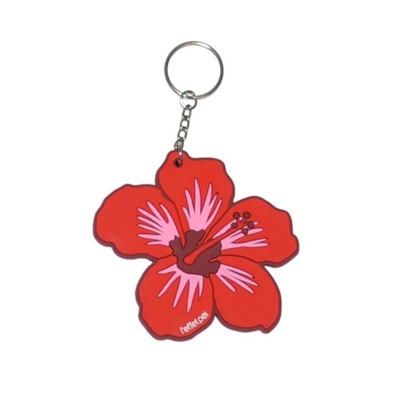 Porte-clés Hibiscus