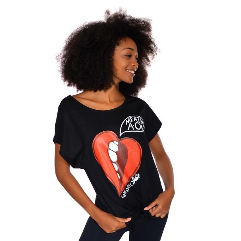 T-shirt Oana - Mi aim a ou