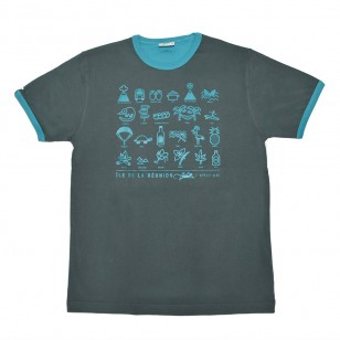 T-shirt Iconspeak (Col Bic)