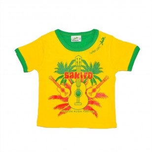 T-shirt Sakifo Palm (Marmaille Col Bic)