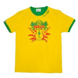 T-shirt Sakifo Palm (Col Bic)