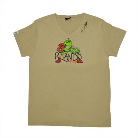 T-shirt Rando Péi (Col V Holiday)