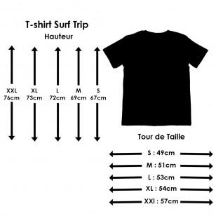 T-shirt Surf Trip Botanist