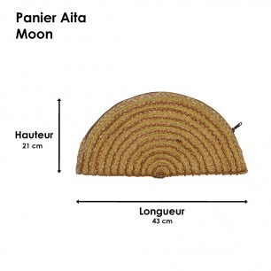 Panier Moon Aita Silver