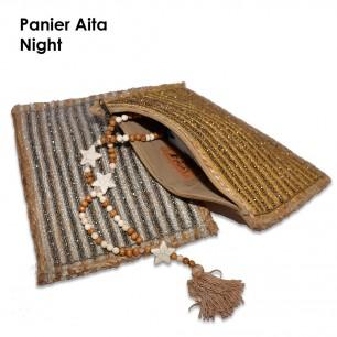 Panier Night Aita Silver