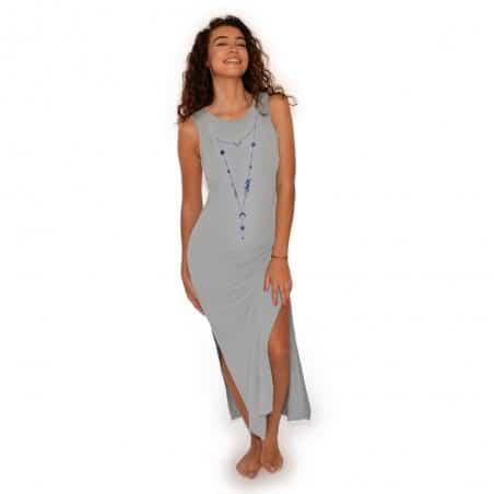 Robe longue Safia Collier