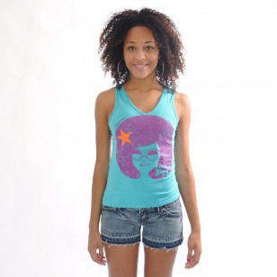 Top AFRO dos nageur Fit