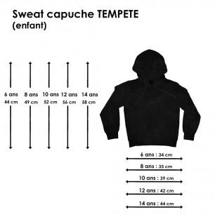 Sweat Tempête Marmaille