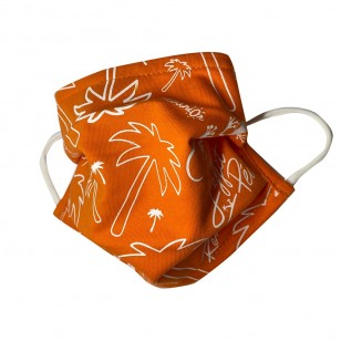Masque Péi Orange