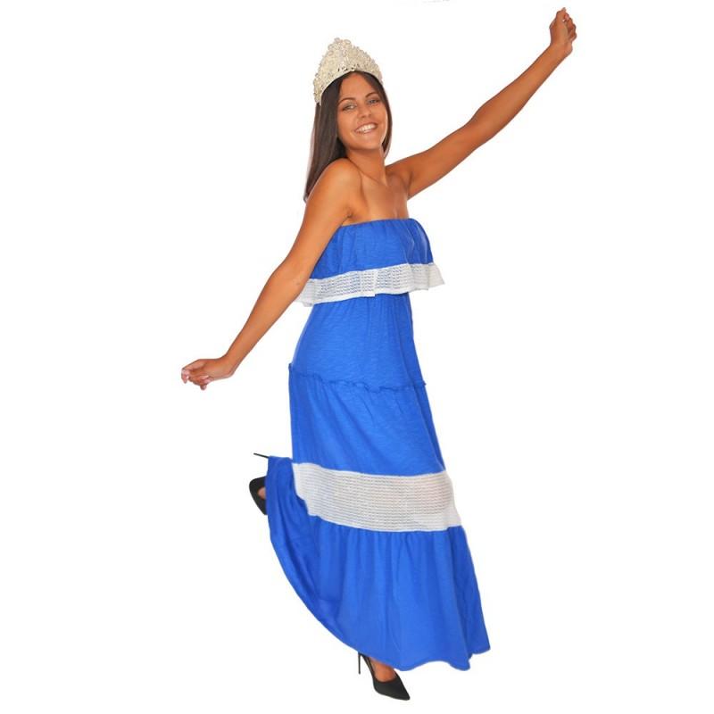 Robe longue Pampa Plum