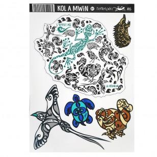 Autocollant Kol à Mwin 6