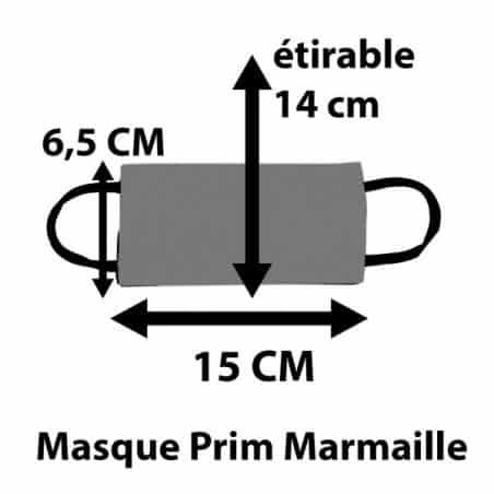 Masque Péi Marmaille Tranche Papaye