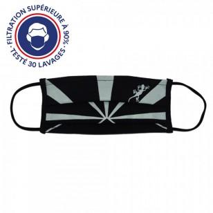 Masque Péi Flag Noir