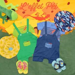 T-shirt & Salopette Ti Marmaille