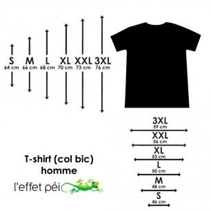 T-shirt Tatoo Map (Col Bic)