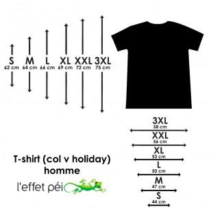 T-shirt Kan (Col V Holiday)