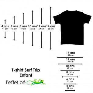 T-shirt Locean Marmaille Surf Trip