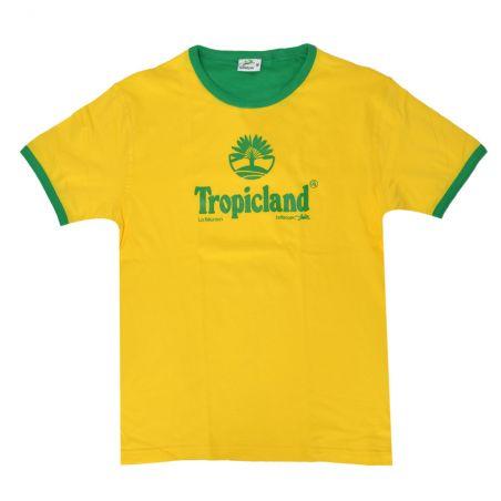 T-shirt Tropicland (Col Bic)