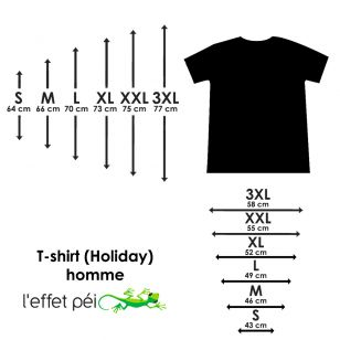 T-shirt ICI C Piment (Holiday)