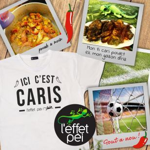 T-shirt ICI C Caris Piment (Holiday)