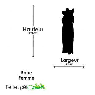 Robe longue Lotus