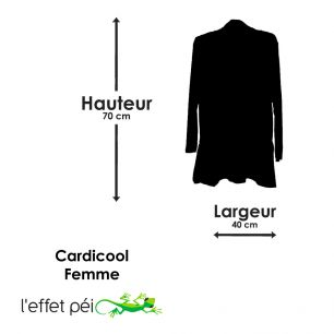 Cardicool Lazi Pocket (manches longues)