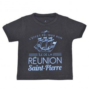 T-shirt  Ville RUN ST PIERRE (Fashion Enfant)