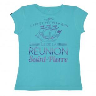 T-shirt Ville RUN ST PIERRE (Classic Femme)