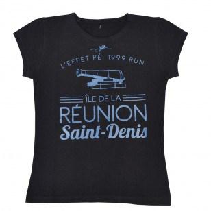T-shirt Ville RUN ST DENIS (Classic Femme)