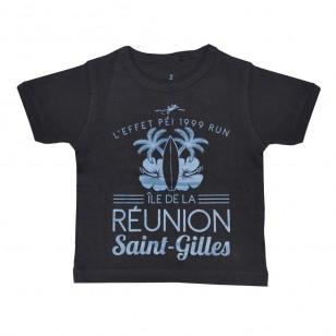 T-shirt Ville RUN ST GILLES (Fashion Enfant)