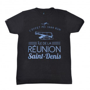 T-shirt Ville RUN ST DENIS (Fashion Homme)