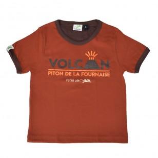 T-shirt FOURNAISE (Col Bic)