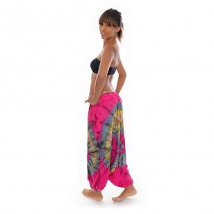 Pantalon Sarouel Tie&Dye