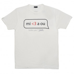 T-shirt MI AIME A OU (Holiday)