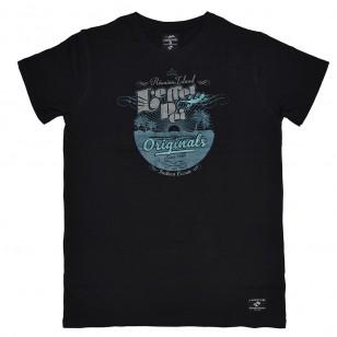 T-shirt Gravure Sunset (Jack)