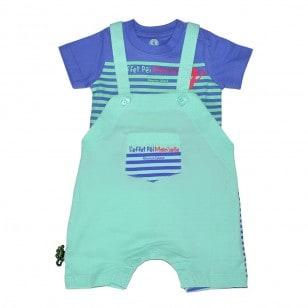 Ensemble T-shirt & Salopette Tiga