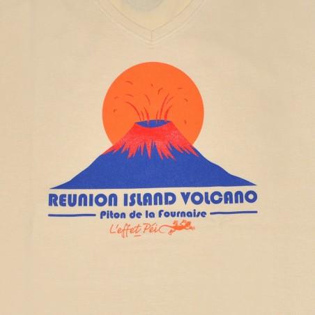 T-shirt Lé cho Volcan (Col V Holiday)