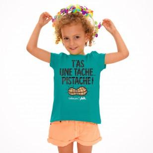 T-shirt Pistache (fashion marmaille)
