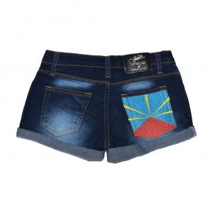 Short jean Flag