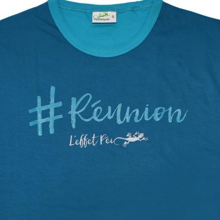 T-shirt Ti Hash (col bic)